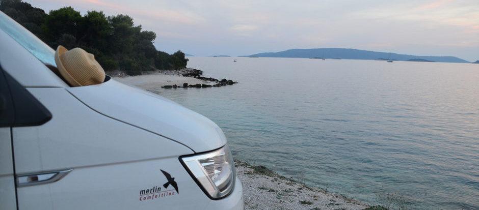 Unterwegs mit dem Dipa-Reisemobil - Kroatien