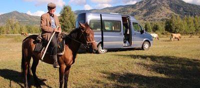 Mongolei mit unserem Volkswagen Crafter Bussard