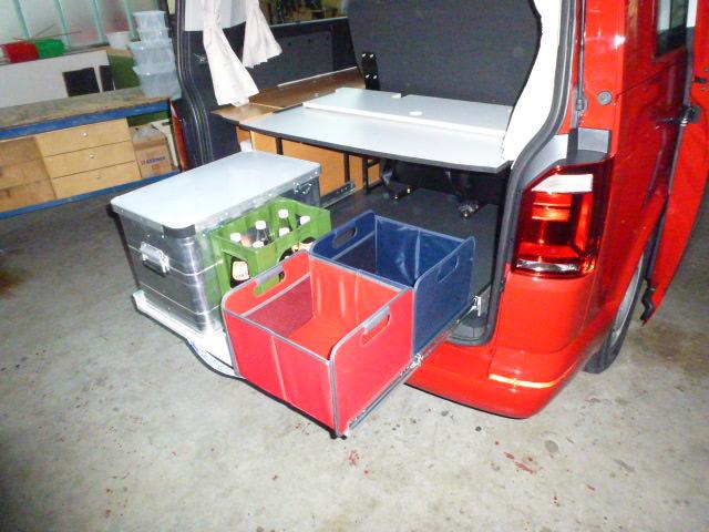 """Der Weg des Ausbaus """"falke"""" Volkswagen T6 langer Radstand Teil 2"""