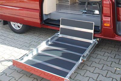 VW-Crafter - Reisemobil-Ausbau mit Rampe