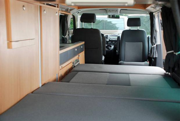 "Innenausbau - VW-Bus Reisemobil ""Merlin"""
