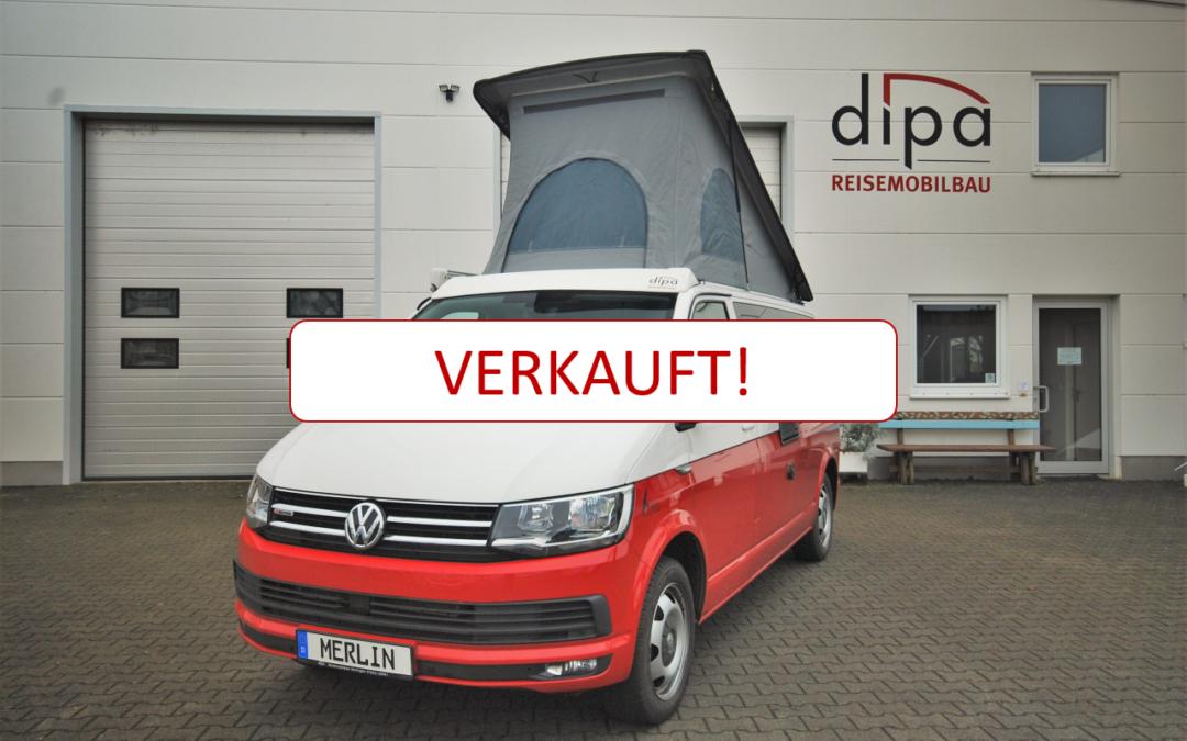 Verkauf im Kundenauftrag VW T6 Caravelle Comfortline LR merlin Aufstelldach