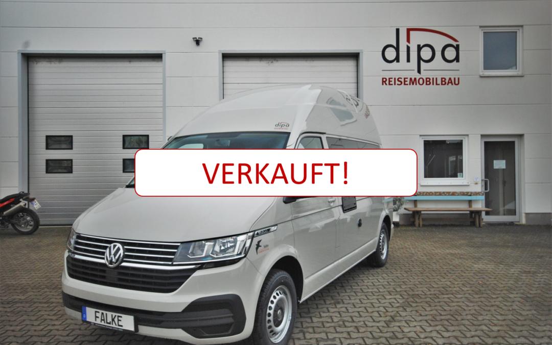Verkauf Ausstellungsfahrzeug VW T6.1 Caravelle Comfortline LR falke Hochdach